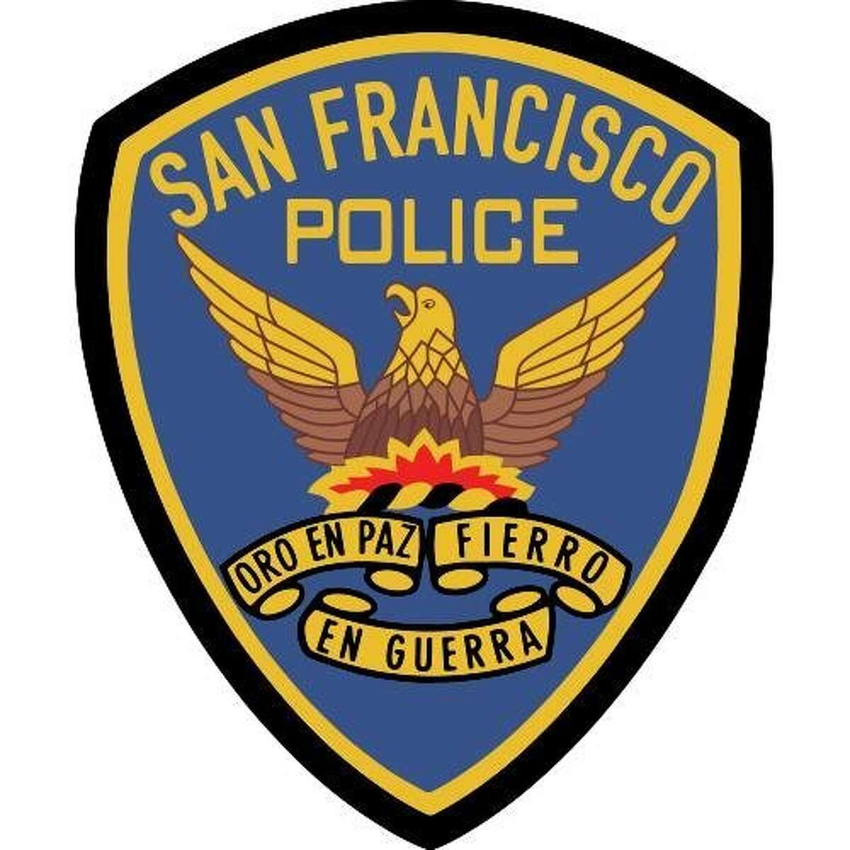 A San Francisco Police Department insignia.