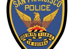 A San Francisco Police Department insignia.