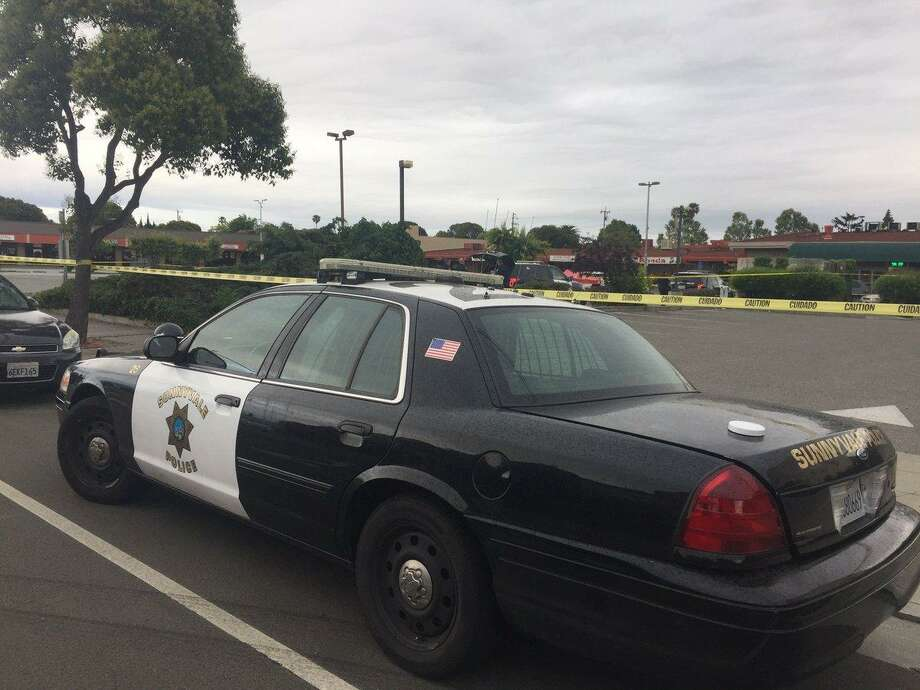Sunnyvale police investigating a shooting on Thursday. Photo: Sunnyvale Department Of Public Safety / Sunnyvale Department Of Public Safety