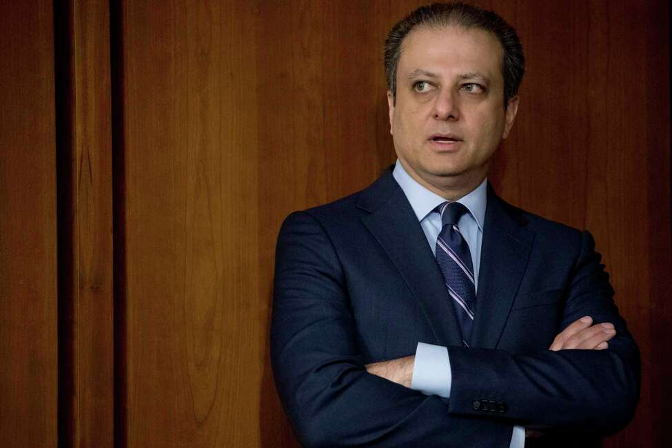 Former United States Attorney General for the Southern District of New York Preet Bharara arrives before former FBI director James Comey testifies at a Senate Intelligence Committee hearing on Capitol Hill, Thursday, June 8, 2017, in Washington. (AP Photo/Andrew Harnik) ORG XMIT: DCAH114