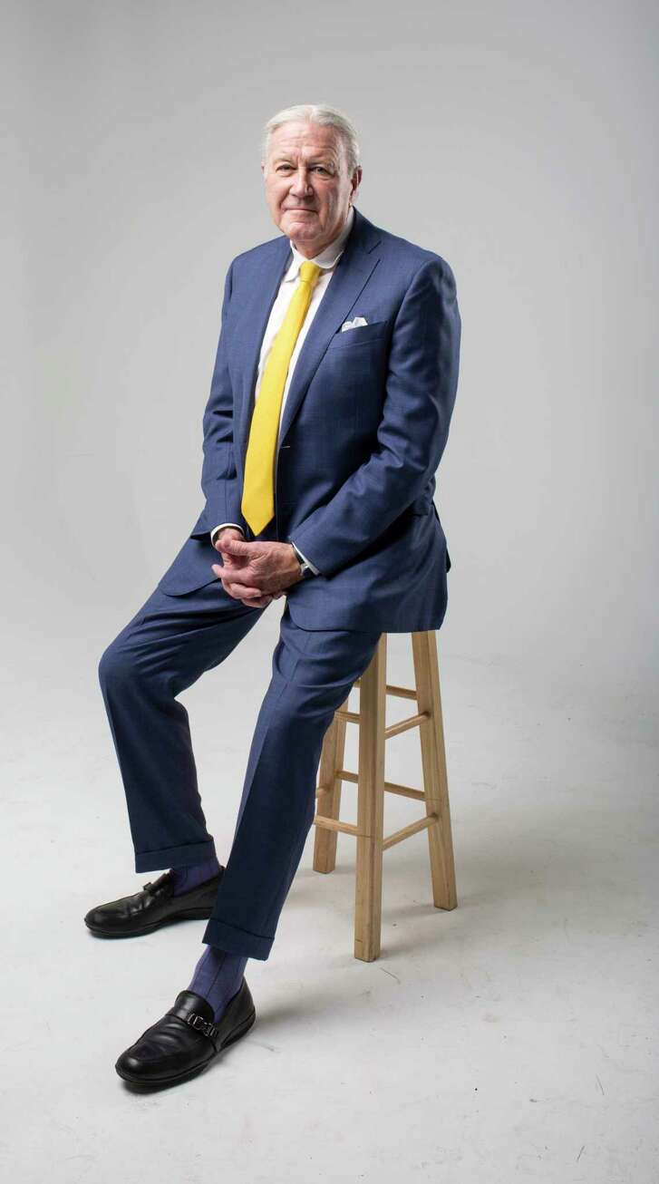Chuck Carlberg, principal of Richards/Carlberg advertising agency, poses for a portrait in the Houston Chronicle photo studio, Thursday, May 18, 2017, in Houston. ( Jon Shapley / Houston Chronicle )