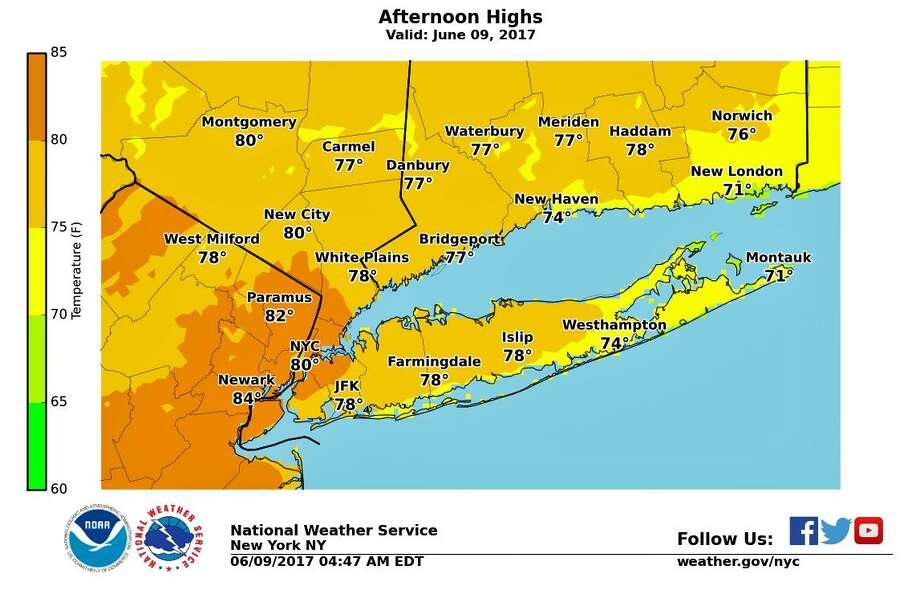 Sunny, warm Thursday with a chance for thunderstorms