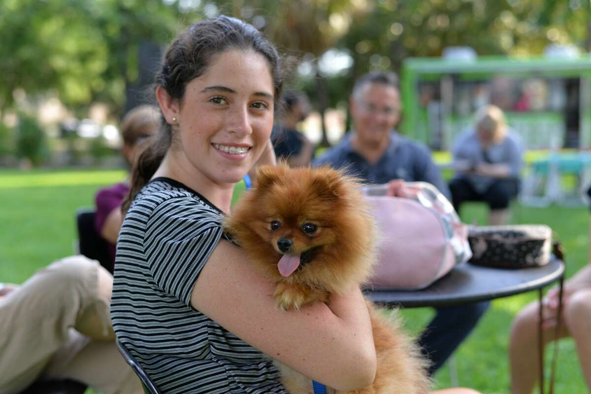 San Antonio's McNay Art Museum hosted a free night of art and music at the monthly Second Thursday at the McNay series on Thursday, June 8 2017. Food trucks, drinks and San Antonio Pets Alive were also on set for the pet-friendly event.