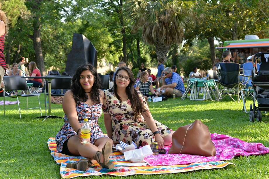 San Antonio's McNay Art Museum hosted a free night of art and music at the monthly Second Thursday at the McNay series on Thursday, June 8 2017. Food trucks, drinks and San Antonio Pets Alive were also on set for the pet-friendly event. Photo: Kody Melton, For MySA.com