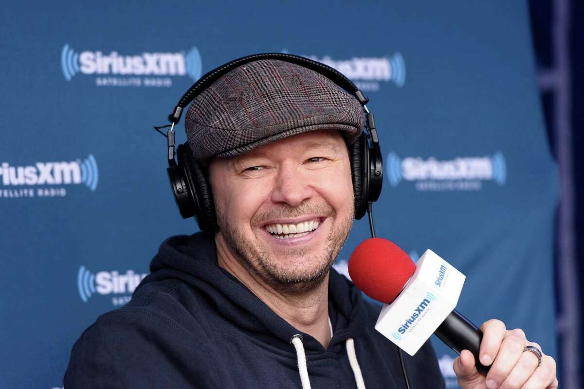 CHICAGO, IL - APRIL 28: Donnie Wahlberg attends Jenny McCarthy's SiriusXM show from Grant Park in Chicago, IL before the NFL Draft on April 28, 2016 in Chicago, Illinois. (Photo by Daniel Boczarski/Getty Images for SiriusXM)