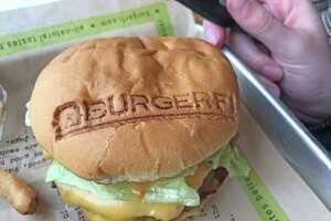 Students were impressed with BurgerFi's signature bun.