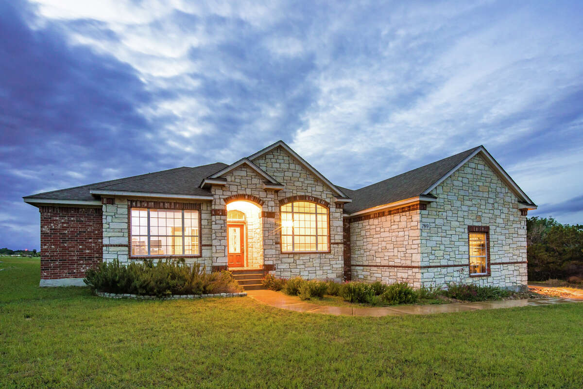"""789 River Chase Way in New Braunfels. The neighborhood was recently included on Redfin's list of the """"Hottest Neighborhoods to Watch"""" in 2020."""