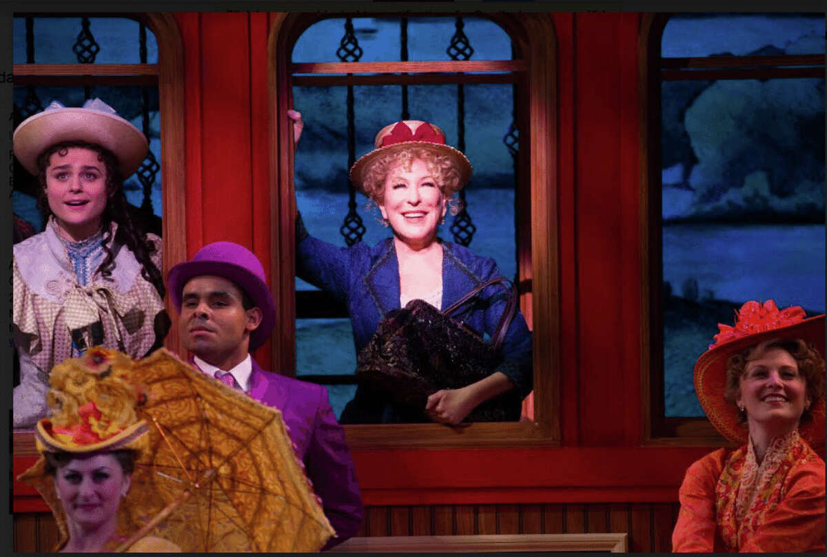 """FILE-- Bette Midler, in """"Hello, Dolly!"""""""