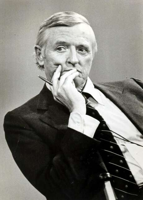 William F. Buckley Jr., founder of National Review, died 10 years ago. Photo: ST