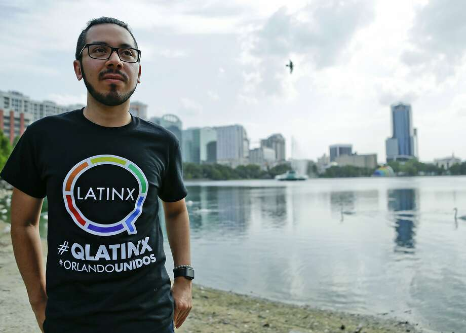 Christopher Cuevas is founder of the support group QLatinx. Orlando's gay Latinos are trying to strengthen their community. Photo: John Raoux, Associated Press