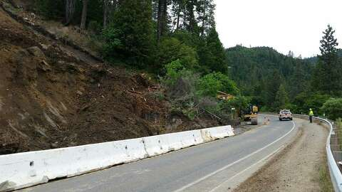 Mudslide blocks Hwy  50 west of South Lake Tahoe - SFGate