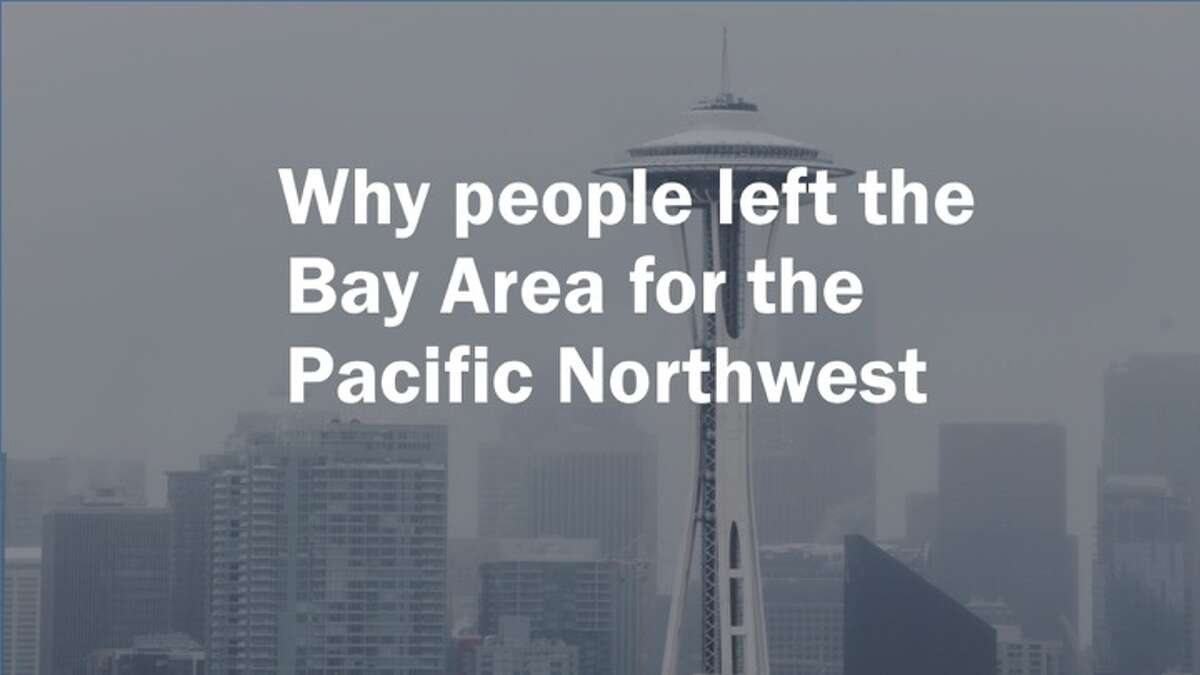 Why people left the Bay Area for the Pacific Northwest -- people tell their stories.