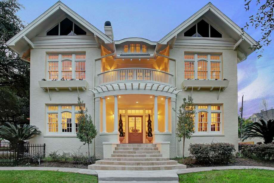 3618 Burlington Street, Houston $2 millionBuilt in 1897 as a personal residence for renowned home builder Russell Brown4 bedrooms, 3 full and 1 half baths$340.14 per square footSee the listing at HAR.com  Photo: HAR