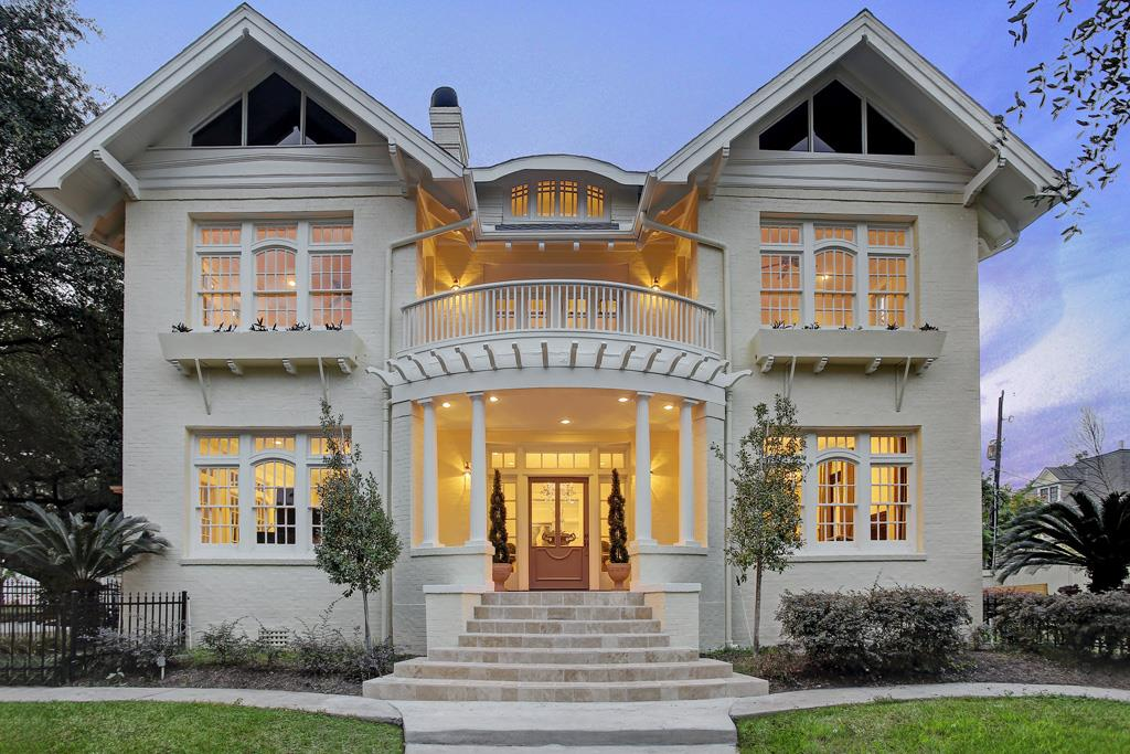 Turn Of The Century Historic Homes For Sale In The Houston