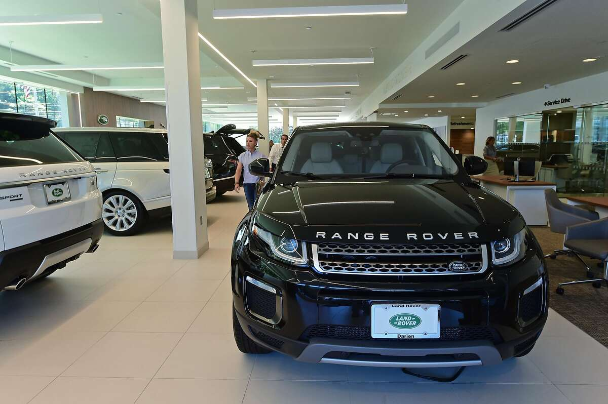 The new Jaguar Land Rover Darien Centre faciilty Tuesday, September, 13, 2016, at 1335 Boston Post Road in Darien, Conn. Jaguar Land Rover Darien Centre will mark grand opening with a reception on Thursday, adding to its status as the first Land Rover dealer in the United States by becoming the first to debut a new architectural design that will be rolled out nationally in a $1.5B dealer investment program.