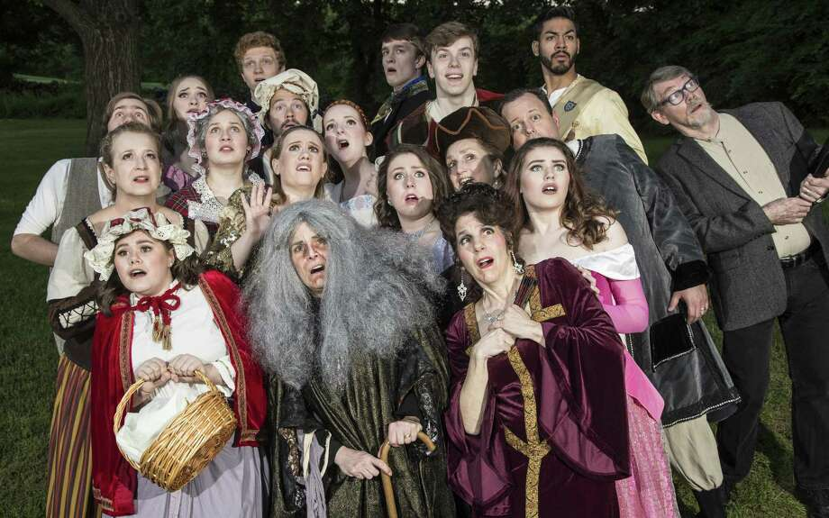 """""""Into the Woods"""" is on stage at Danbury's Musicals at Richter, Friday, June 16, through Saturday, July 1. Photo: David Henningsen Photography / Contributed Photo"""