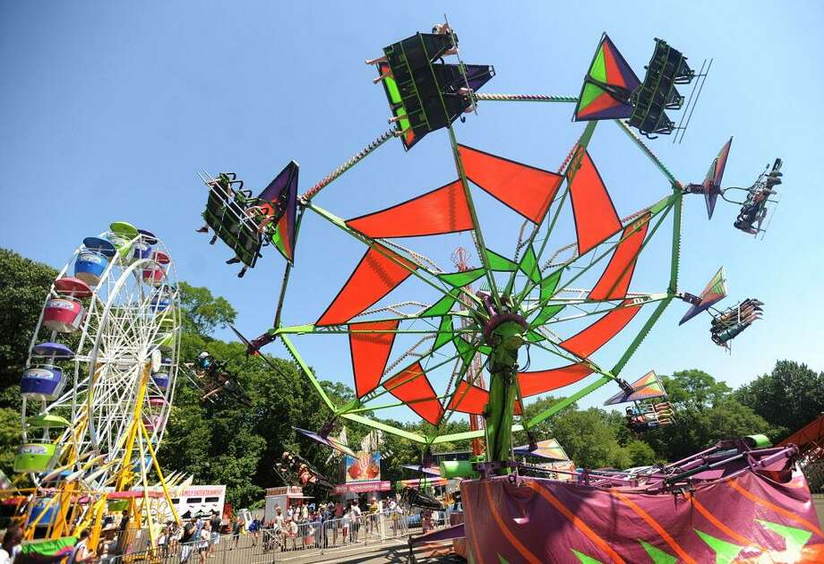 The Yankee Doodle Fair, which is run by the Westport Woman's Club, returns to the Imperial Avenue lot Thursday through Sunday. Find out more.  Photo: Brian A. Pounds / Hearst Connecticut Media File Photo / Connecticut Post
