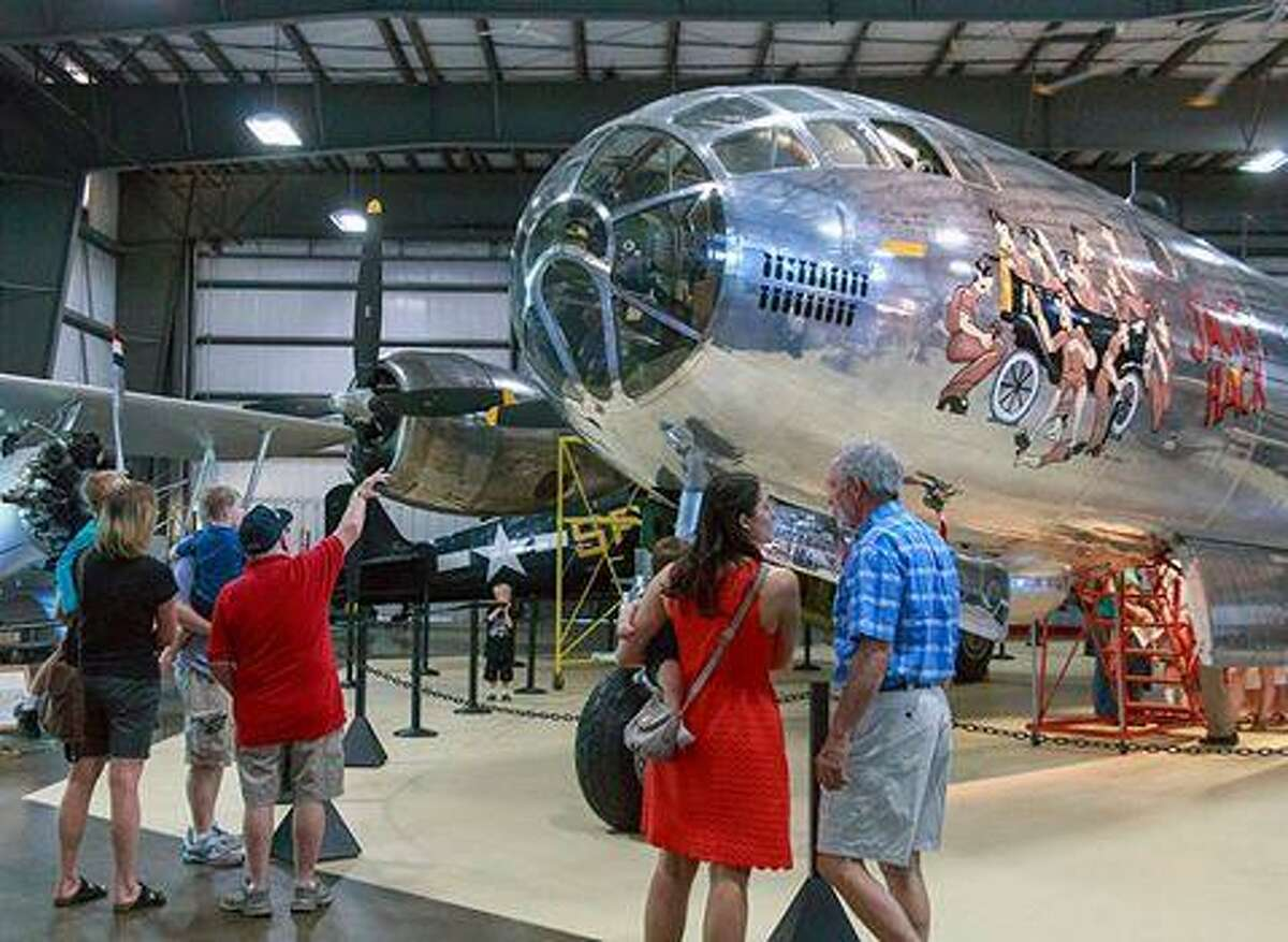 The New England Air Museum will present Open Cockpit Day on Father's Day, Sunday, June 18.