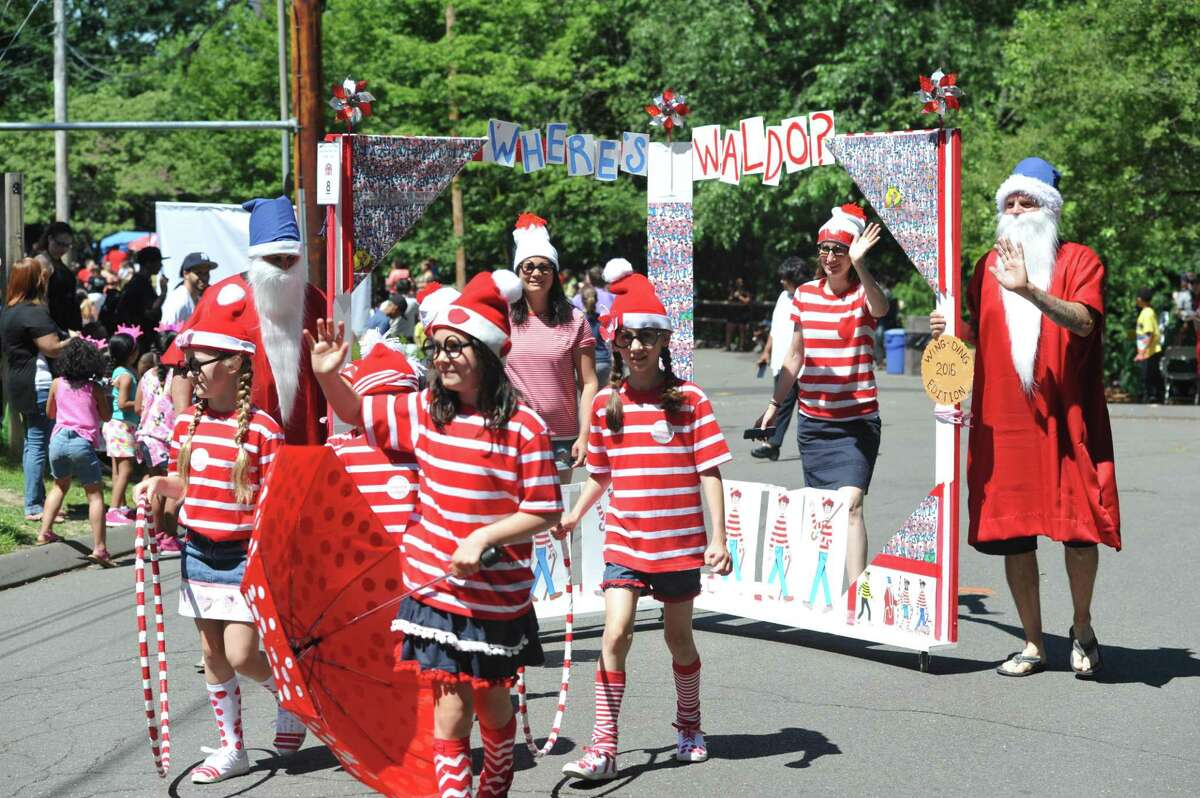 Where's Waldo? At Bridgeport's Beardsley Park for the Barnum Festival Wing Ding Parade from 2016. This year's parade is Saturday, June 17.