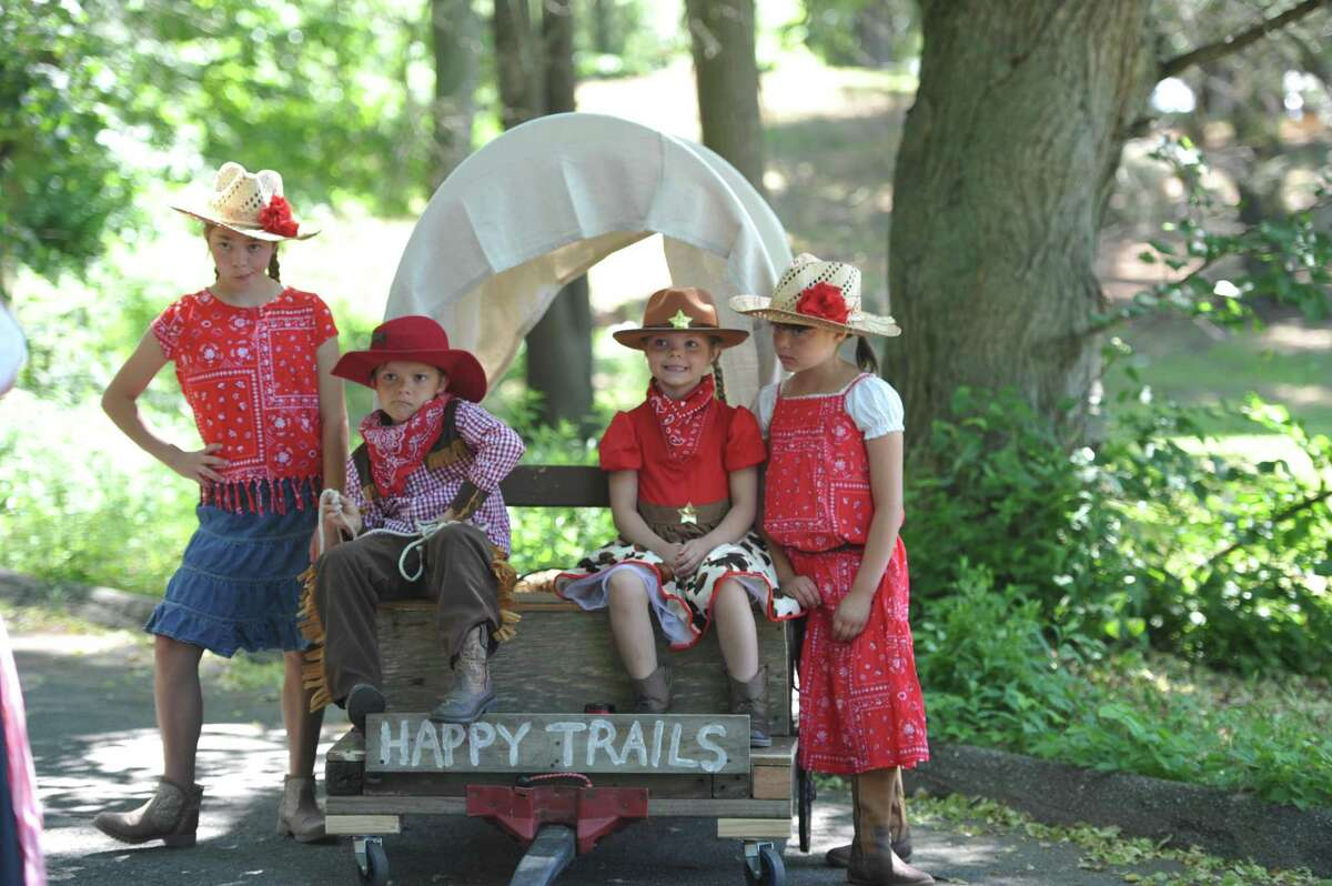 The Horne family from Stratford took part in the Barnum Festival's Wing Ding Parade in 2016. This year's parade is Saturday, June 17, at Beardsley Park.