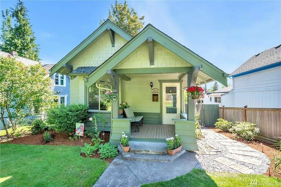 The first home, 4119 S. J St., is listed for $214,000. It is in Lincoln in Tacoma. 