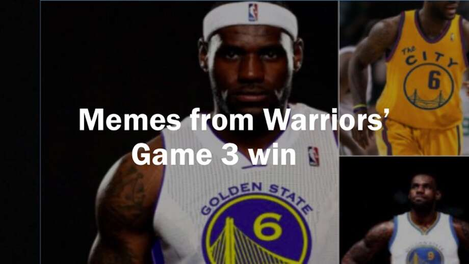Memes from Warriors Game 3 win Photo: SFGATE