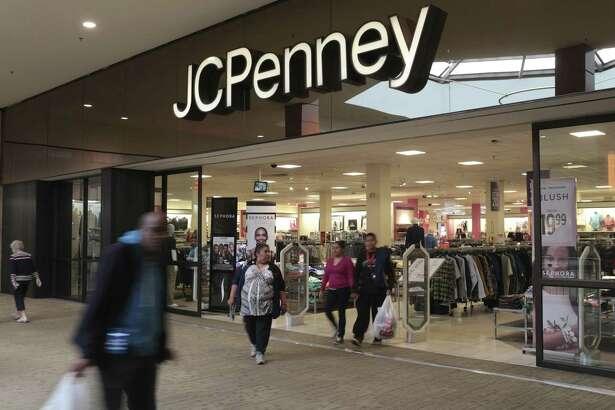 J.C. Penney Co. joined department-store rivals such as Macy's Inc. and Kohl's Corp. in reporting disappointing sales for the first quarter, sending its shares down as much as 11 percent Friday.