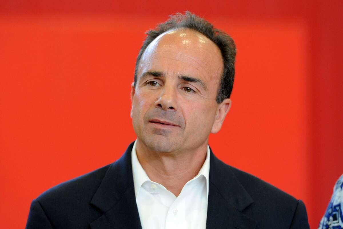 Bridgeport Mayor Joe Ganim topped the list that the city provided to Hearst Connecticut Media with a $5,539 payout.