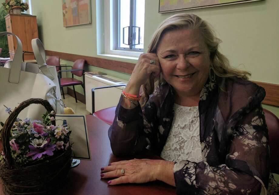 "Pamela Kuhn received the Cultural Alliance of Fairfield County's Arts and Culture Empowerment Educator Award this this week for her career and life dedicated to the arts and singing. Kuhn leads the Angel and Silvertones Choirs at the Greenwich Senior Center and gives voice lessons to and mentors professional singers and high school students. She also has a radio show on WGCH, ""Center Stage with Pamela Kuhn,"" where she discusses art and talks to the artists behind it. Photo: Jennifer Turiano / Hearst Media CT"