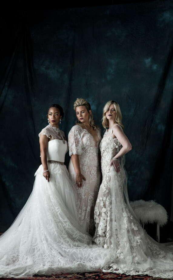 Bridal fashion Tuesday, June 6, 2017 in Houston. Photo: Michael Ciaglo, Houston Chronicle / Michael Ciaglo