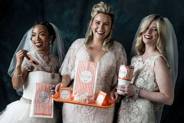 Bridal fashion Tuesday, June 6, 2017 in Houston.