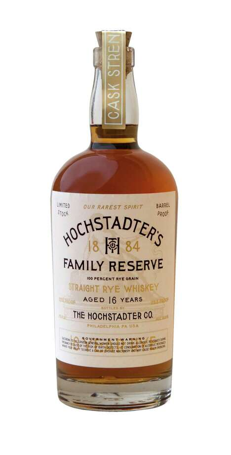 American heritage spirits are always a great way to recognize dad, especially if that hooch is Hochstadter's Family Reserve, a 16-year-old rye whiskey that offers an intense, full-flavored rye experience housed in a classic whiskey bottle; $200 at select liquor stores. Photo: Hochstadter's
