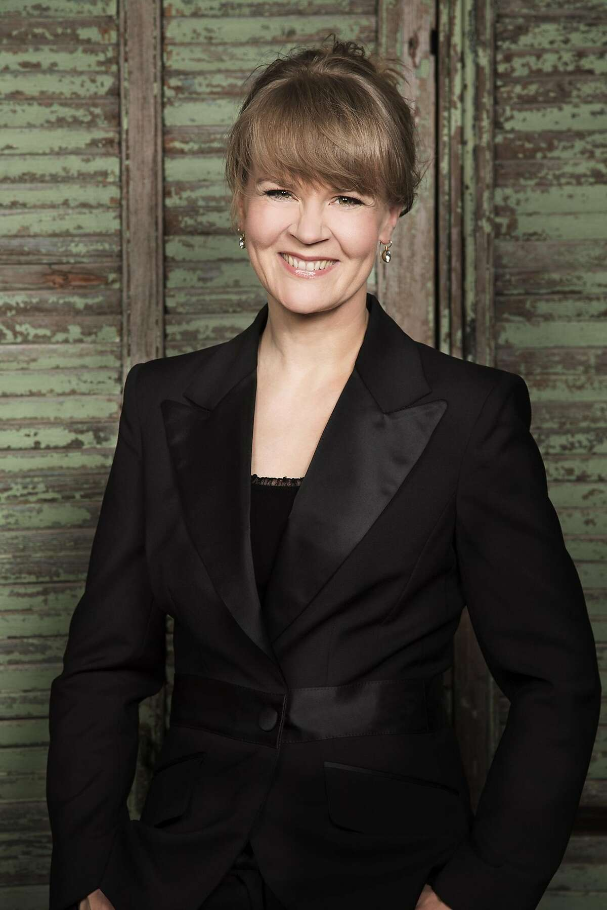 Conductor Susanna Mälkki brings passion to the podium.
