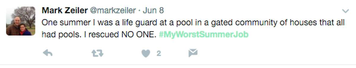 People shared their worst summer jobs on Twitter with the hashtag #MyWorstSummerJob - and their stories are hilarious.