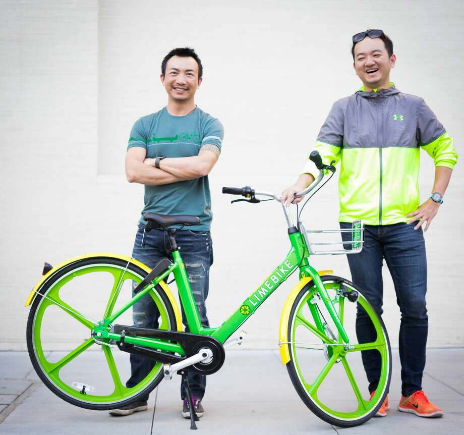 LimeBike, as well as other new bike share companies that run without stations, are planning to launch soon in Seattle now that SDOT has released regulations for a pilot program. Photo: Courtesy LimeBike