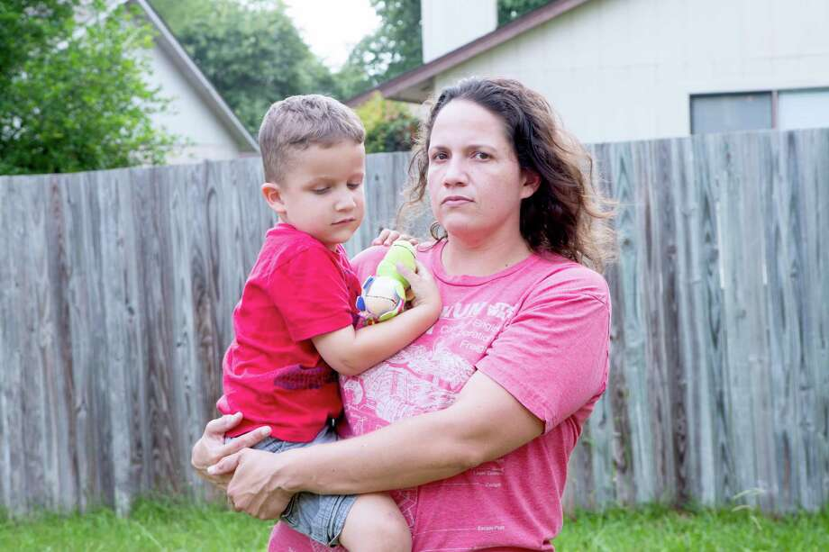 Jennifer Sanchez spent two years looking at more than 45 homes before she managed to snatch one up in her price range of $150,000. Photo: Federica Valabrega /Federica Valabrega For The San Antonio Express-News / © Federica Valabrega