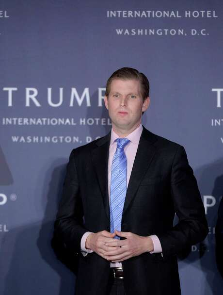 Eric Trump, son of Republican presidential nominee Donald Trump, looks on during the grand opening of the Trump International Hotel on October 26, 2016, in Washington, D.C. (Olivier Douliery/Abaca Press/TNS) Photo: Olivier Douliery, FILE / Abaca Press