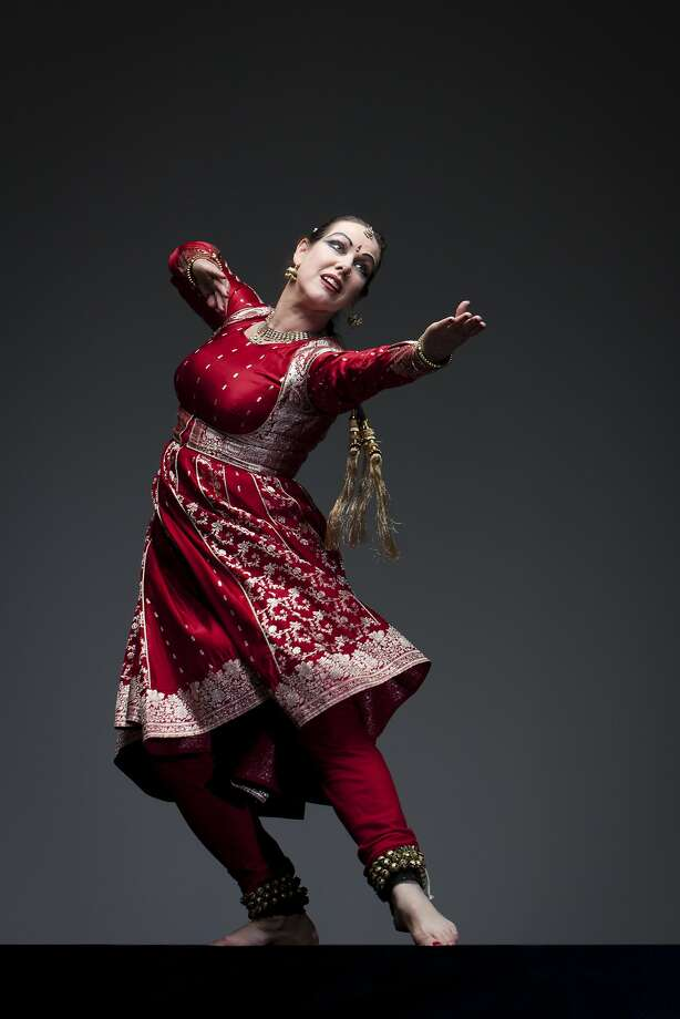 Charlotte Moraga was a principal in Pandit Chitresh Das' company. Photo: Margo Moritz