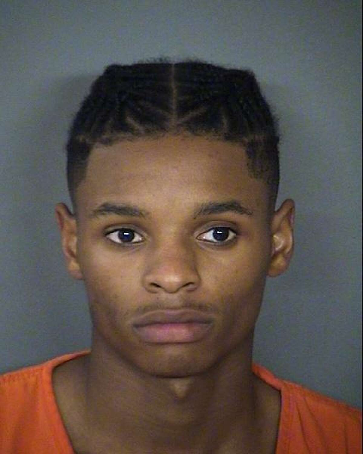 Anton Harris, 18, who was arrested Thursday at North Star Mall. He is facing four charges of sexual assault, one charge of attempted sexual assault and one charge of aggravated robbery.