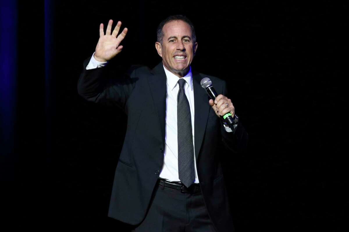 Commanding the Palace stage for 85 minutes in a sleek, dark suit and tie, Jerry Seinfeld showed off a laser sharpness on the foibles of modern life, offering one comedic insight after another in a finely honed routine with never a wasted word nor a missed opportunity.