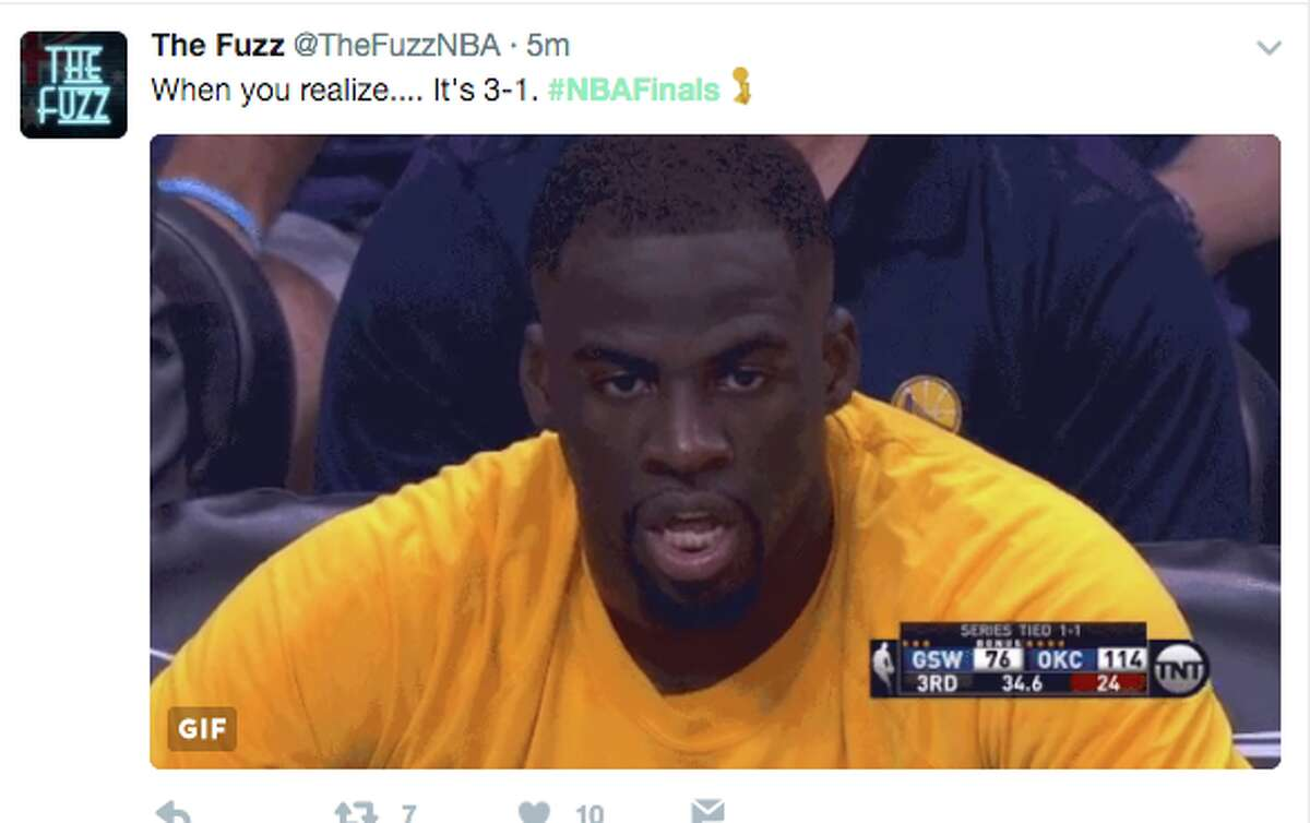 The Cleveland Cavaliers blazed to a victory against the Golden State Warriors in Game 4 of the NBA Finals. Fans from both sides took to social media to express their anger and elation.