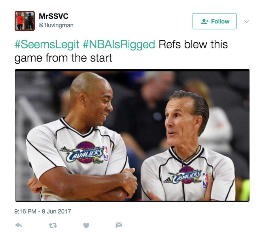 Game 4 Refs Roasted On Twitter For Controversial Calls