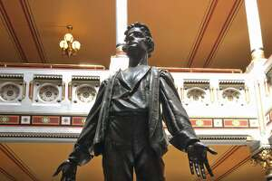 Nathan Hale at the state Capitol
