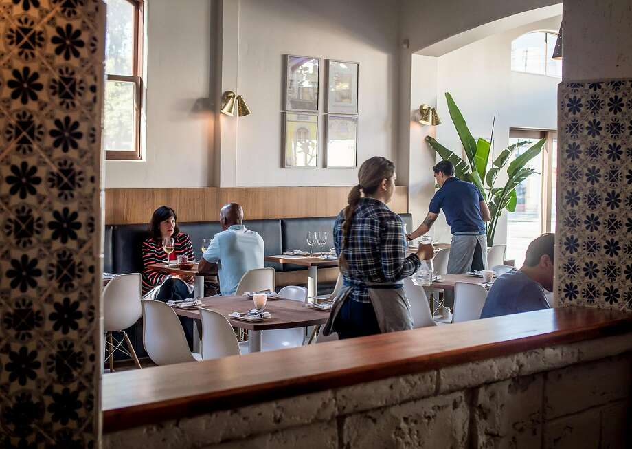 Dinner at Uma Casa in S.F. Photo: John Storey, Special To The Chronicle