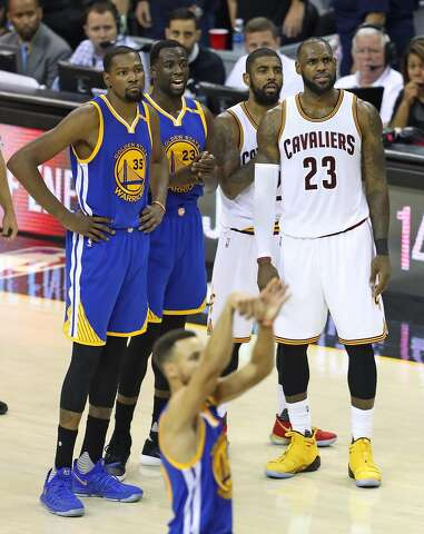 76504812663 Golden State Warriors  Kevin Durant and Draymond Green and Cleveland  Cavaliers  Kyrie Irving and