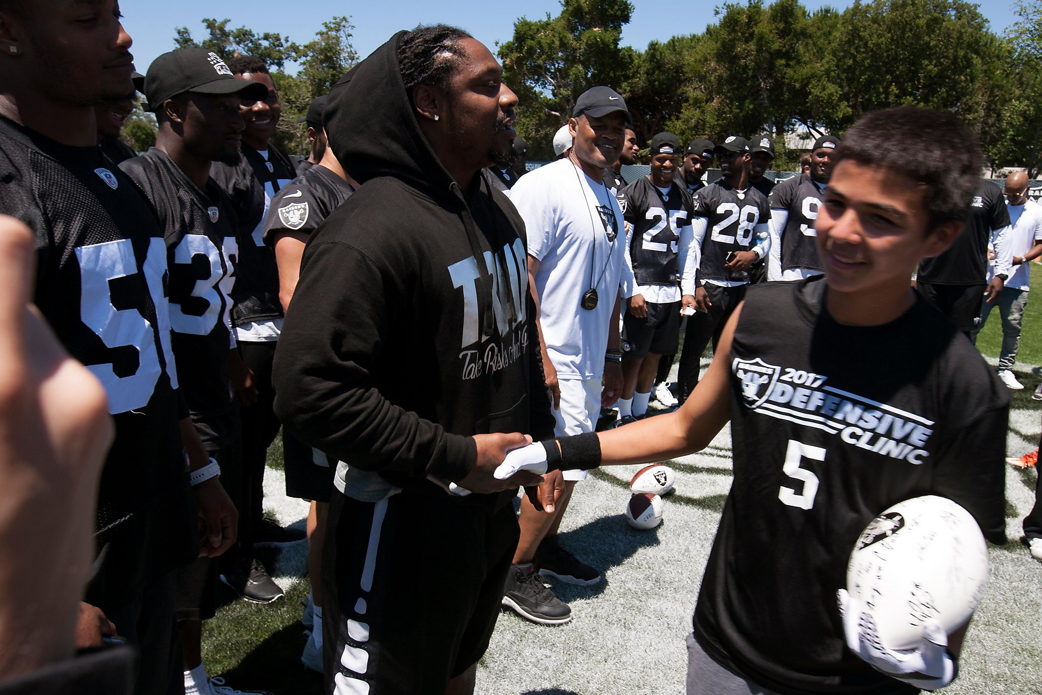 Marshawn Lynch s love for Oakland led to NFL return - SFChronicle.com 619beee5b