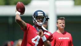 Deshaun Watson is the man the fans are eager to see, but the coaches likely will exercise more patience and let him develop behind Tom Savage for as long as that pecking order works for the Texans.