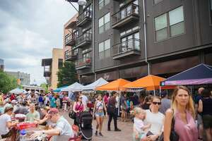Local food lovers visited the Pearl Saturday morning June 10, 2017, for the weekly Farmer's Market.