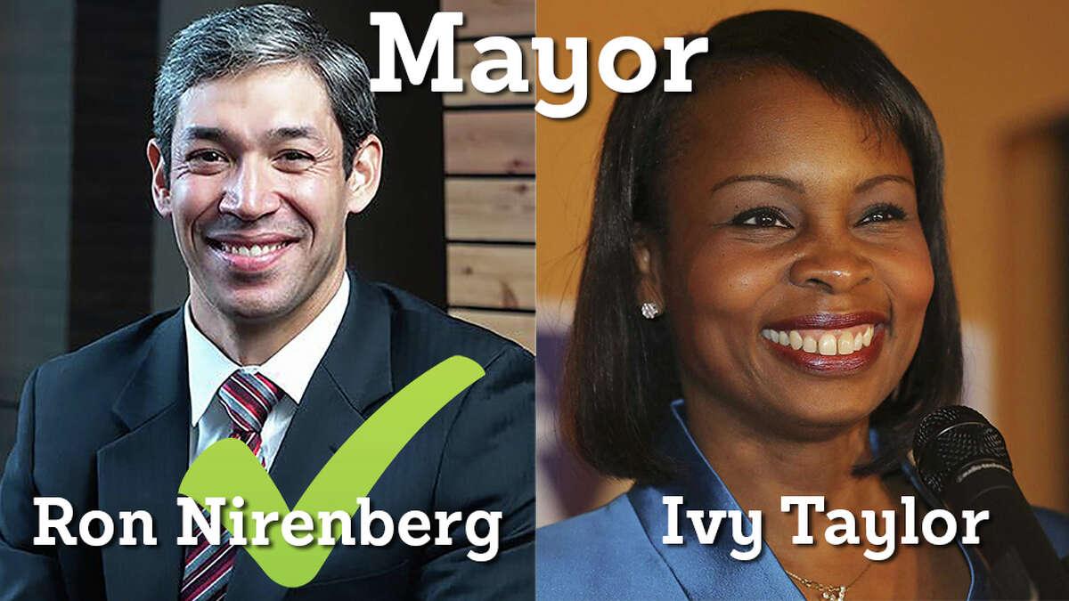 Ron Nirenberg is San Antonio's new mayor.