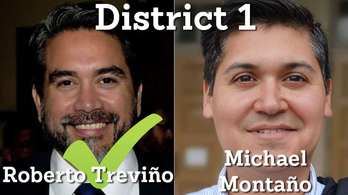 Roberto Treviño is reelected to District 1.